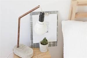 Lampe Dimmbar Machen : diy lampe aus beton selbermachen chic einfach ~ Markanthonyermac.com Haus und Dekorationen