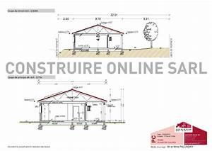 Plan De Construction : que contient une coupe sur terrain et sur la construction ~ Melissatoandfro.com Idées de Décoration