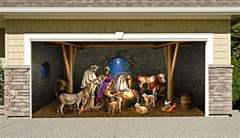 Home Interior Nativity Scene : Buy Garage Door Decorations Outdoor Décor Online