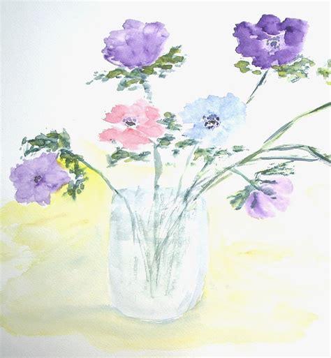 gambar  contoh sketsa gambar bunga mudah digambar