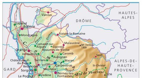 Carte De Avignon 84 by Info Carte Du Vaucluse 84
