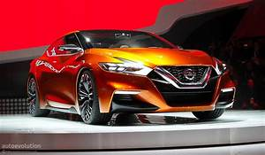 Nissan Sport Sedan Concept Previews The 2016 Maxima  Live