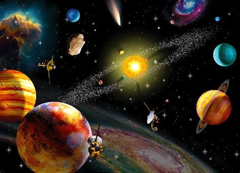 Animated Solar System Wallpaper - solar system wallpapers gallery