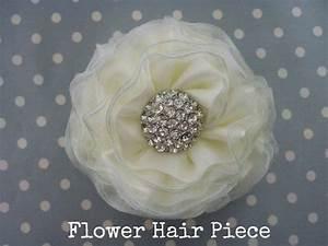 DIY Tutorial: Flower Hair Piece - Boho Weddings For the