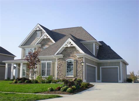house plans with open floor design garage door and exterior trim lancia homes