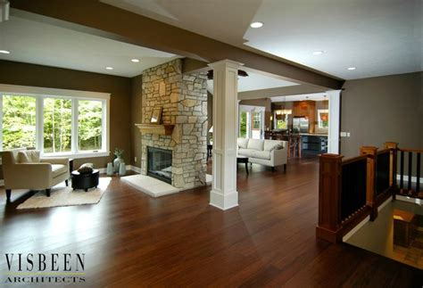 Great Space With A Two Sided Fireplace