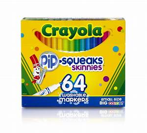 Crayola 64 Ct Washable Markers 58 8764 1 Pack | eBay