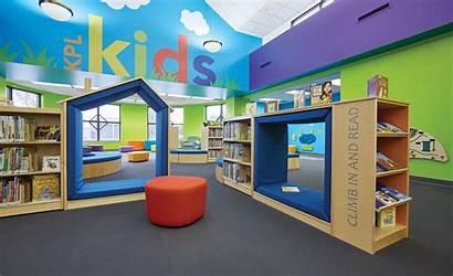 Library Kenosha Children Spaces Demco Furniture Space