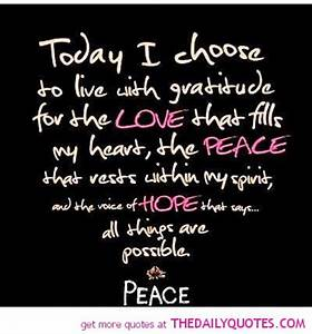 Peace Quotes An... Life Love Peace Quotes