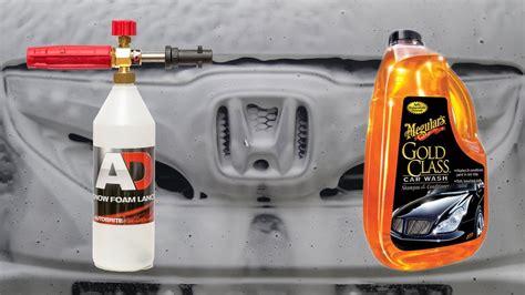 Car Detailing Macquarie by Snow Foam Lance Test Meguiars Gold Class Car Wash Part
