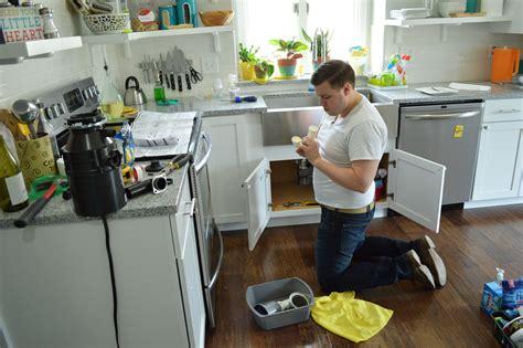 install disposal kitchen sink diwyatt installing a garbage disposal loving here 4711