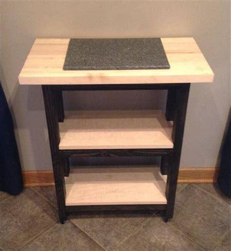 Kitchen Island  Pallet Side Table & Nightstand  101 Pallets