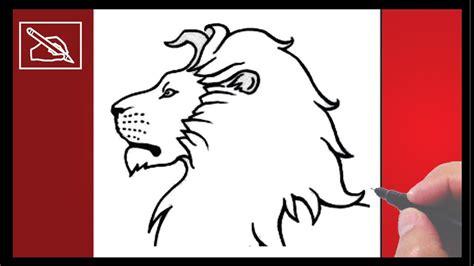 como dibujar  leon   draw  lion dibujando youtube