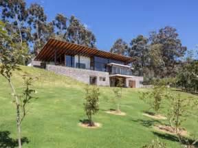 house plans built into hillside house plans with porches modern hillside house plans - Hillside Home Plans