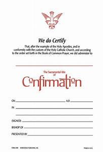 Churchpublishing Org  Confirmation Certificate