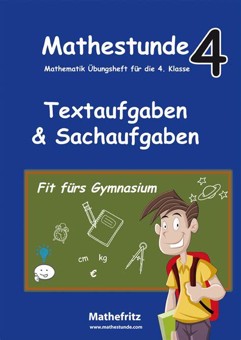 [40+ Seiten Textaufgaben Klasse 4 ] Sachaufgaben Klasse 4