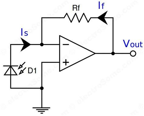 Inverting Amplifier Using Opamp Electrosome