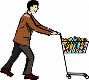 Man Clipart Shopping  Man Shopping Transparent Free For