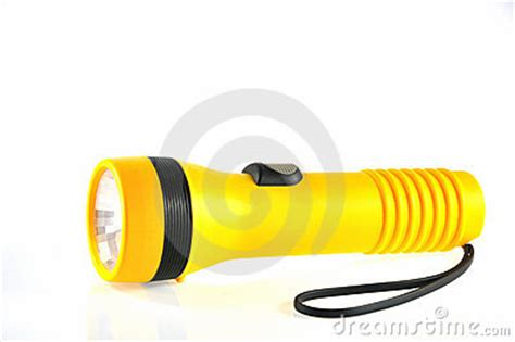 Battery Torch Light Royalty Free Stock Photography Image