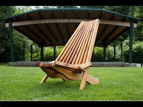 folding cedar lawn chair diy woodworking