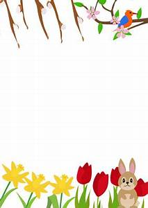 Spring Notepaper | Free Early Years & Primary Teaching ...