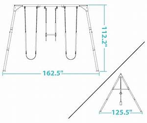 Heavy-duty Commercial Quality Swing Set