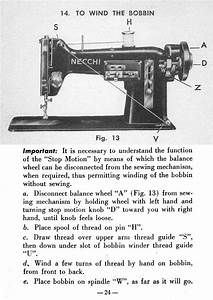 Threading A Necchi Bu Nova Sewing Machine