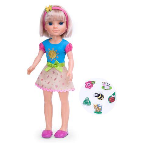 siege balancoire poupée nancy stickers nature 1 famosa king jouet