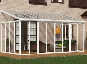 Veranda En Kit Castorama : veranda en kit aluminium et polycarbonate ~ Melissatoandfro.com Idées de Décoration