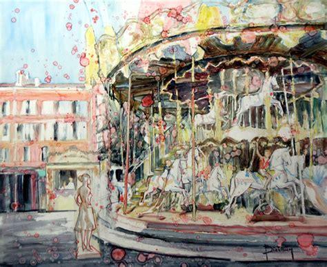 galerie graal galeries d contemporain peinture claude binetruy manege de la place
