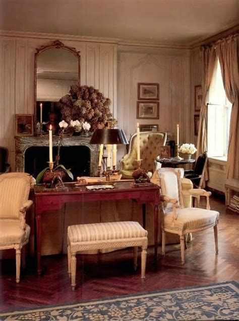 jackie onassis living room apartment french british