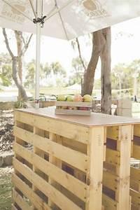 Fabrication Avec Palette : meuble de cuisine en palette fabriquer etagere en palette meubles palettes planches en bois ~ Preciouscoupons.com Idées de Décoration