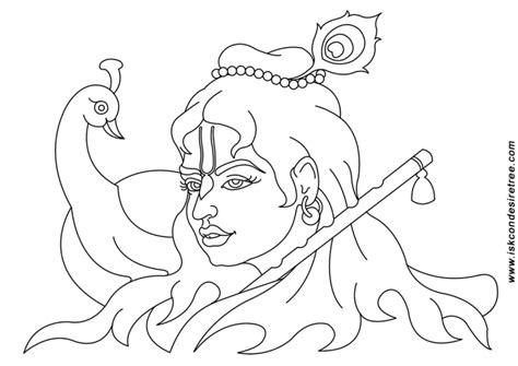 Coloring Pages Of Lord Krishna Democraciaejustica