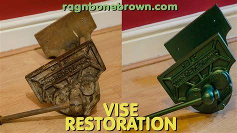 restoring   woodworking vise rededa number  youtube