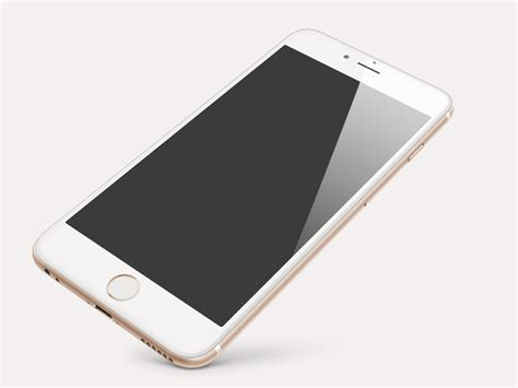gold iphone 6 plus perspective gold iphone 6 plus psd free vector graphic