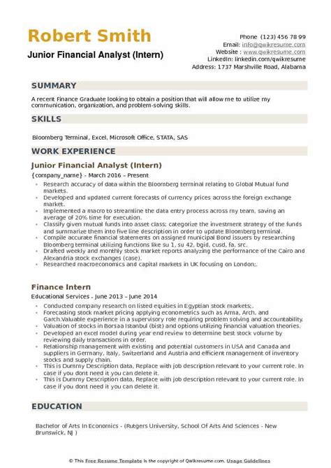 Financial Analyst Skills Resume by Financial Analyst Intern Resume Bijeefopijburg Nl