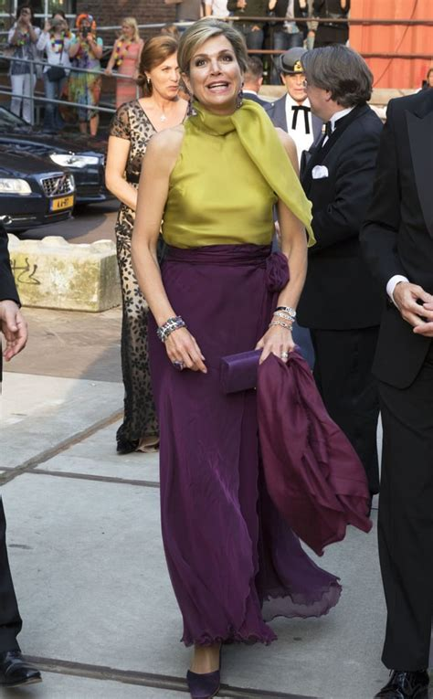 Queen Maxima Outfit Presenting King Willem Award
