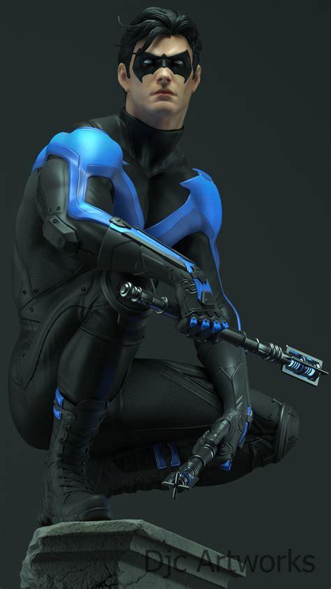 ArtStation - Nightwing, Diego Corvalán