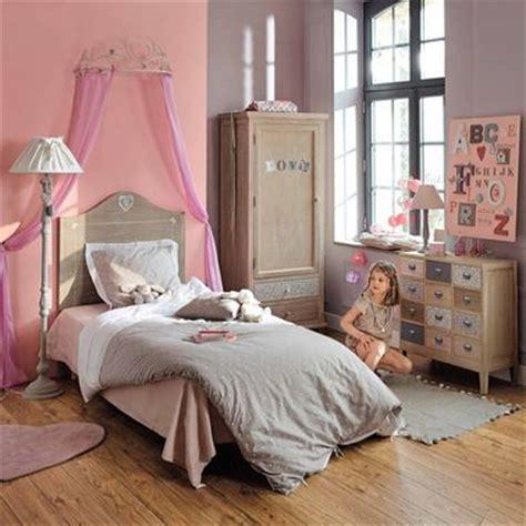 un ciel de lit maisons du monde pour une vraie chambre de princesse