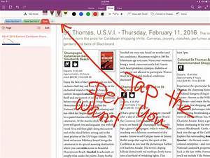 Putting Apple Pencil To Work With Evernote  Onenote And