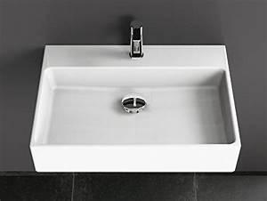 Einbauwaschbecken Eckig Keramik : aqua bagno solo design keramik waschbecken 60 cm wei aufsatzwaschtisch eckig g ste wc ~ Bigdaddyawards.com Haus und Dekorationen