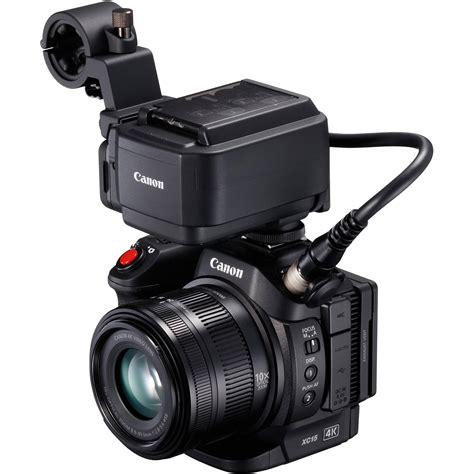 canon professional canon xc15 4k professional camcorder 1456c002 b h photo