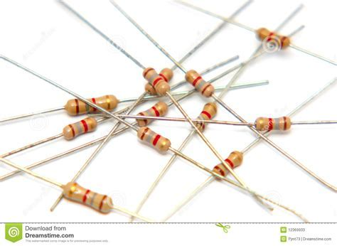 Electrical Resistors 1 Stock Photos Image: 12369933