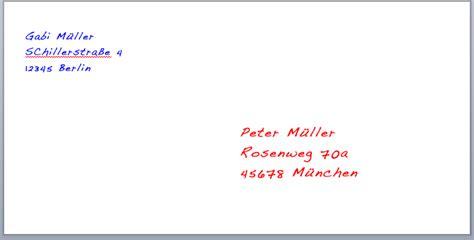 writing informal letters in german german language