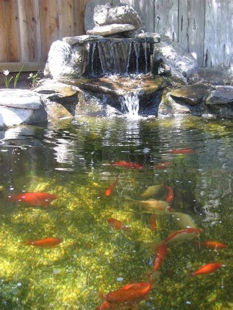 garden ponds waterfalls
