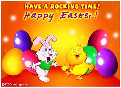 Easter Happy Greeting Ecard Cards Ecards Bunny