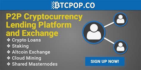 Site de bitcoin que paga bem via paypal skill. BTCPop: Bitcoin-Lending-Platform - Bitcoin Basel