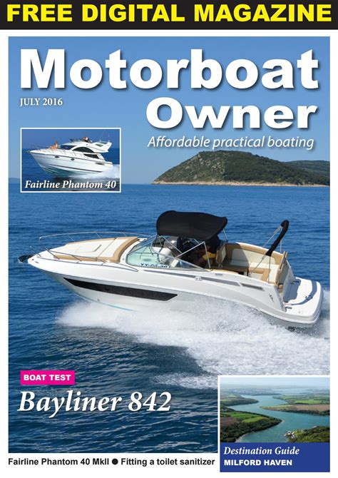 motorboat owner july   digital marine media  issuu
