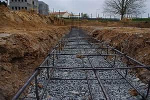 Ferraillage Fondation Mur De Cloture : les fondations le ferraillage la maison en paille d ~ Dailycaller-alerts.com Idées de Décoration