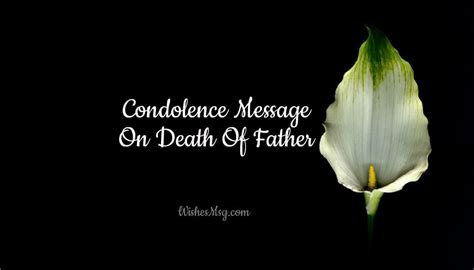 condolence messages  death  father sympathy quotes wishesmsg
